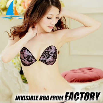 Hot sale backless push up adhesive hd bra image