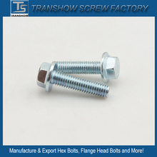 C1035 Steel Galvanized Hex Flange Screw Grade 8.8