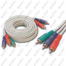 3RCA Component RGB Cable for HDTV DVD VCR 50ft (WD14-004)