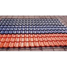 Telha de telhado que faz o preço da máquina de cimento / cimento telha preço de máquinas na china