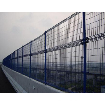 Double Ringed Protection Fencing for Bridge