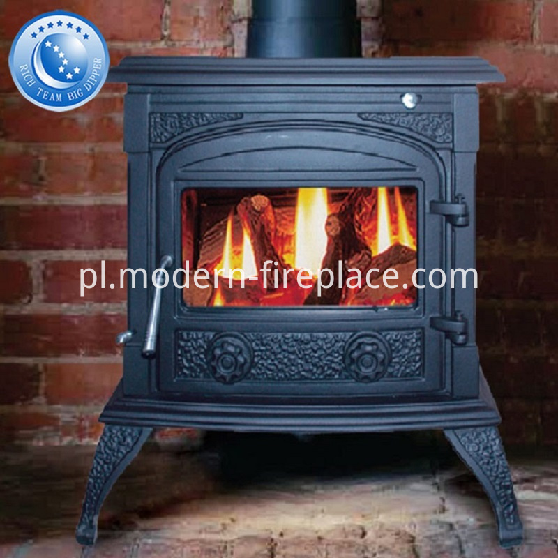 Decorative Custom Wood Burning Fireplace Showrooms