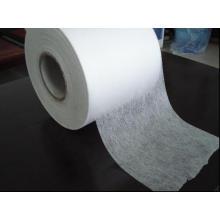 Blanc Tissu non tissé Spunbond imperméable et résistant à l'acide pour la construction de bâtiments