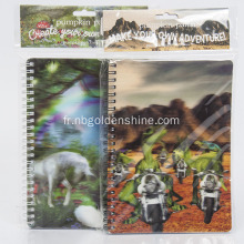 Lenticular 3D Stationery Journal Notebook
