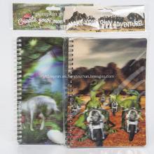 Lenticular papelería 3D Diario Notebook