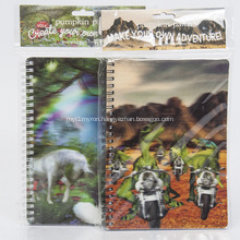 Lenticular 3D Stationery Journal Notebook