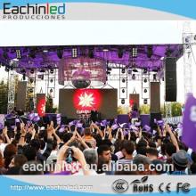 P8 tela de vídeo p8 ao ar livre ultra slim tela de led pequeno aluguer Ao Ar Livre tela de LED