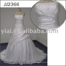 JJ2366 Ball Gown Bling Satin Sexy Wedding Night Dresses