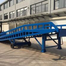 Manufacturer Steel Forklift Mobile Loading Dock Ramp low price