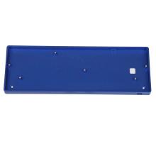 teclado de caixa mecânica de alumínio personalizado 60% Placa de latão