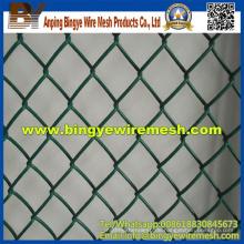 Heißer Verkaufs-Großverkauf-Qualitäts-PVC-Kettenverbindungs-Zaun