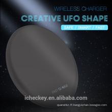 Chargeur sans fil QI, Tapis de recharge sans fil ultra-rapide et ultra-veille pour Samsung S8 / S8 Plus, pour iPhone 8/8 Plus / iPhone X