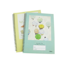 Taille 260 * 190mm PP Cover Spiral Notebook Hardcover Agenda Carnet de notes Office Memo Book