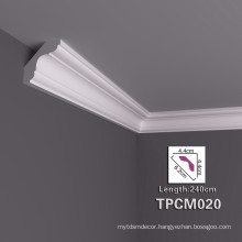 High Stability PU Decorative Cornice Moulding In Many Styles
