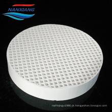 Cordierite Ceramic Filter Ceramic Honeycomb usado em indústrias de fundição de aço, ferro, alumínio e cobre