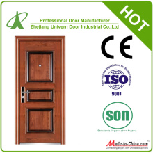 Wrought Iron Exterior Door with Sidelight (YF-S103)