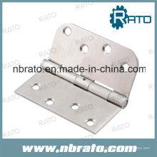 Bisagra de puerta de madera de acero inoxidable de 4 pulgadas