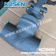 Válvulas de globo de bonete soldadas de acero forjado (J11)