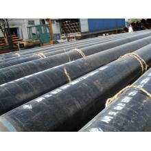 API 3PE Anti-Korrosions-Spirale geschweißte Stahlrohr