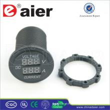 Ampèremètre numérique Daier et voltmètre Power Out Car 12V DC Socket