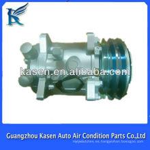 Compresor auto del coche del conditionind 5S14 del aire 12V / 24v para sanden