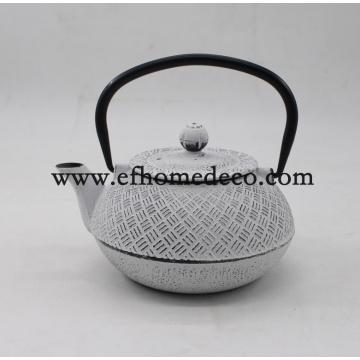 Grosir Cast Iron Enamel Teapot Set Stock