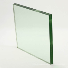 21.52mm clear safety sandwich laminated glass for stairs balustrade outdoor swimming pool fencing wall deck railing