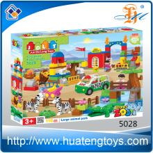 Juguete de los nuevos bloques huecos de la familia animal nueva juguete del surtidor de China