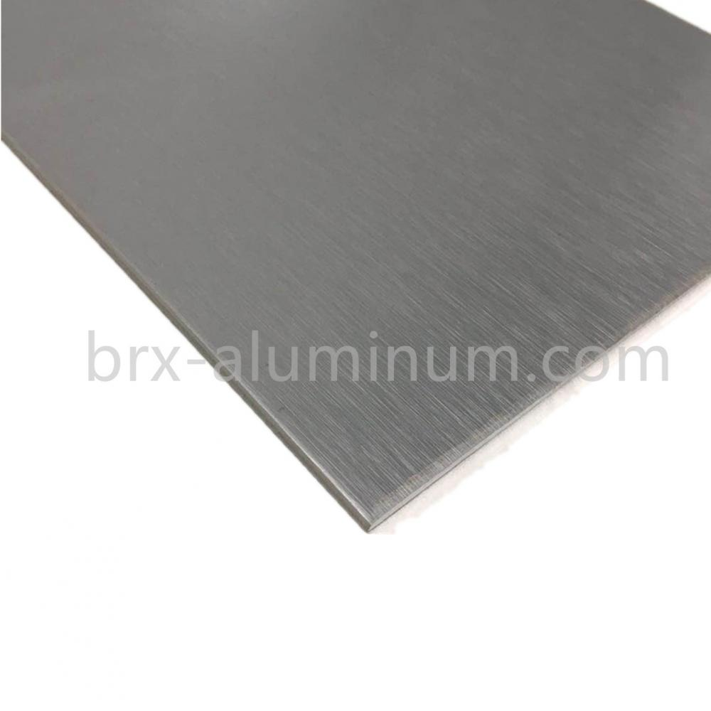 Decorative aluminum plate
