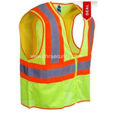 Men's Lime Green Class 2 High Visibility Safety Vest