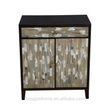 CANOSA 2016 Новый продукт OX-рог из инкрустированного дерева Шкаф для хранения мебели для гостиной
