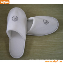 100% Cotton Slippers Brown Beige Disponible en Home / Hotel Slipper Use
