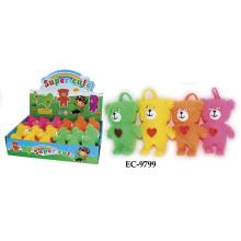 Brinquedo divertido do urso da ceia intermitente