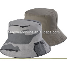 100% cotton bucket hat camo bucket hat for adult and kid