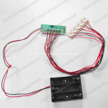 Módulo LED para pantalla pop, luz de módulo led de persecución blanca de 5 mm