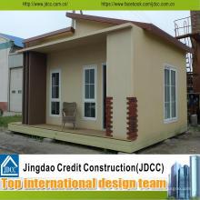 Bajo costo y construcción rápida de casas pequeñas prefabricadas