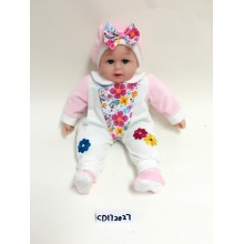 "24"" White And Pink Colour Vinyl Doll"