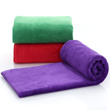 High Quality Ultra Absorbent Weft Knitting Microfiber Towels