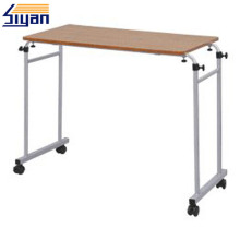 Folding bed table for dining and study