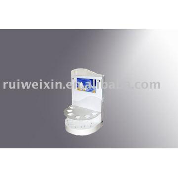 affichage acrylique de compteur de carte de voeux avec l'écran d'affichage à cristaux liquides de 7 pouces