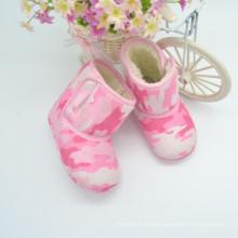 2015 botas de inverno adoráveis para bebês rosa rosa