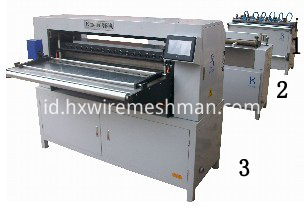 pleating machine line