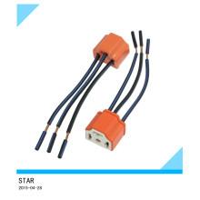 9003 douilles de câblage en céramique fil de harnais de phares pour phare de voiture