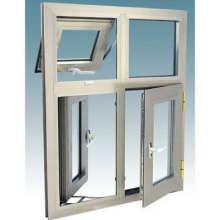 Фошань Вудвин Двойное закаленное стекло Термальное размыкание алюминиевого окна