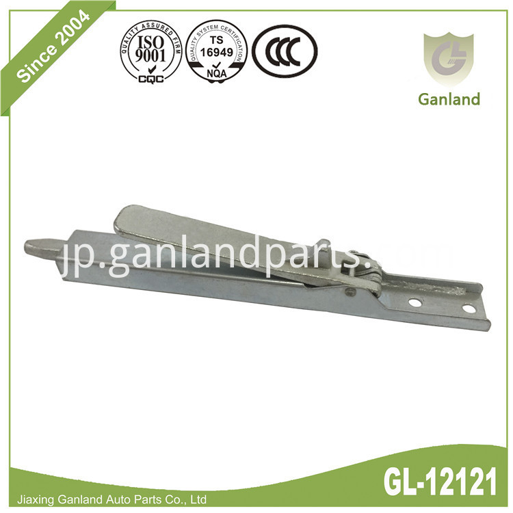 Pillar Spring Loaded Lock GL-12121