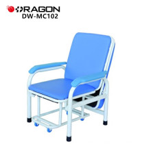 DW-MC102 Lujoso paciente pliegue hospital acompañan silla de la cama