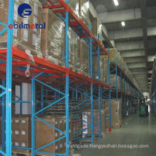 Widely Use in Industry & Warehouse Storage Steel Push Back Racking