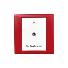 Prise de téléphone d'incendie conventionnelle pour alarme incendie