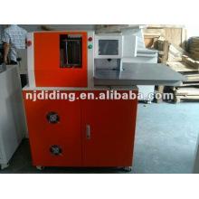 Aluminio / acero inoxidable / acero al carbono / chapa de metal galvanizado CNC máquina de doblado de carta de canal