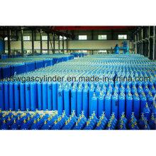 99,999% Heliumgas gefüllt in 40 l Zylinder, Fülldruck, Qf-2 Ventil